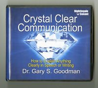 Crystal Clear Communication: by Dr.Gary S. Goodman - 7CDs includes workbook CD