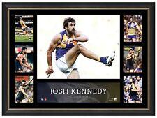 Josh Kennedy West Coast Eagles Unsigned Super Frame AFL Print Official Frame