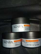 (3)Kenra Pliable Pomade #15, 2-Ounce 3-Pack