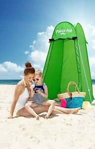 Gigatent ST 002 Pop-Up Pod Changing Tent with Carry Bag - Green