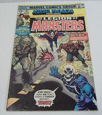 Marvel Premiere #28 Marvel Comics 1976 1st Legion of Monsters w/ Ghost Rider