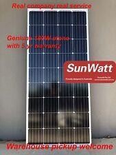 SUNWATT 180W mono solar panel 18V 12V battery caravan BOAT WARRANTY