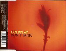 COLDPLAY Rare Australian DON'T PANIC 3 track CD Single
