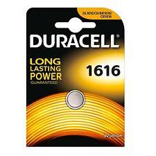 1x Pila Boton Duracell CR1616 Batería Litio 3V