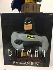Diamond Select DC Comics Animated Black Suit BATMAN Statue Resin Bust MInt