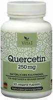 Quercetin 90 Kapseln  Antioxidantien hochdosiert 250mg Hergestellt in Germany