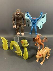 "CRYPTOZOOLOGICAL 3.75"" FIGURE PLAYSET ACCOUTREMENTS BIGFOOT MOTHMAN JERSEY DEVIL"