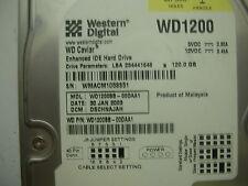 WD Caviar 120gb WD1200BB-00DAA1 2061-001128-100 D IDE