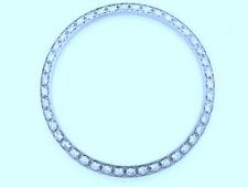 Custom 48 Genuine Diamond SS Bezel F4 Rolex 31mm Midsize/JUNIOR Oyster Perpetual