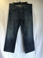7 Seven For All Mankind Size 36 Women's A Pocket Relaxed Jeans Dark Wash