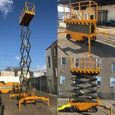 "2018 5 STAR 19' 8"" Max Lift  NEW ELECTRIC  HIGH SCISSOR LIFT MAN LIFT"