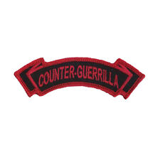 5-2 Infantry (5th Stryker Brigade) Counter Guerrilla Embroidered Tab - 2nd Inf