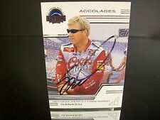 Rare Sterling Marlin #40 Coors Light Press Pass Eclipse 2002 Card 36 AUTOGRAPHED