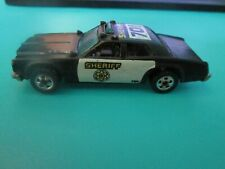Vintage Hot Wheels Sheriff Patrol 701 Blackwall Malaysia 1982