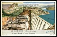 Lago di Ancipa Dam Italy c40 Y/O Trade Ad Card