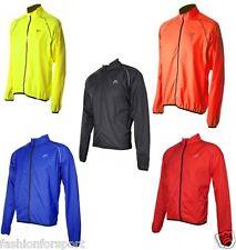 More Mile Mens High Viz Reflective Running Cycle Cycling Wind Sports Jacket