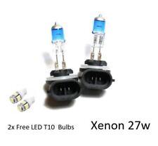 2x h27w/2 [881] 27 W Super White XENON LOOK/Effect mise à niveau HID t10 DEL sidelights