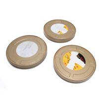 "Lot of 3 Kodak Vision 3 Empty Film Tins 7"""