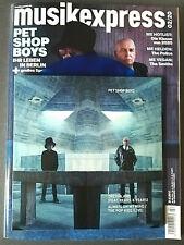 """Pet Shop Boys Musikexpress + 7"""" Blue Vinyl Dreamland Exclusive aus Hotspot Neu"""