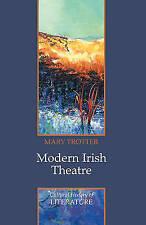 Modern Irish Theatre (Cultural History of Literature)-ExLibrary
