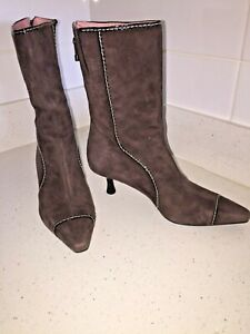 Cole Haan Calf Boots, Size 7.5 To 8 Australian And US