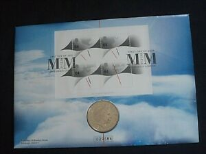 GB Royal Mail 2000  £5 Coin FIVE pound coin  MILLENNIUM MOMENT COIN COVER