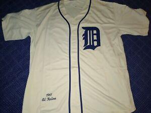 Detroit Tigers 1968 Al Kaline Home Jersey Size XL