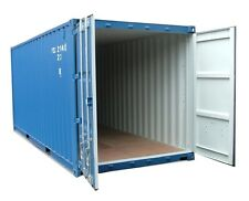 20ft NEW build   Shipping container Blue or green . From Southampton & Midlands