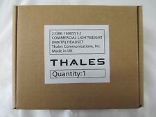 NIB Thales Lightweight MBITR Headset NEW