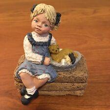 "All God's Children, Miss Martha Holcombe figurine: ""Ginnie� Coa Item #1508 Rare"