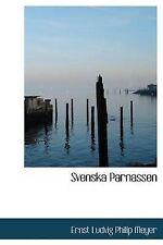 NEW Svenska Parnassen (Swedish Edition) by Ernst Ludvig Philip Meyer