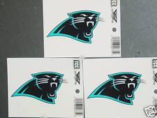 NFL Window Clings (3), Carolina Panthers, NEW