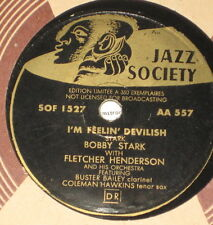 78rpm/Jazz Society AA 557/LIMITEE EDITION 350 Exemplaires/FLETCHER HENDERSON