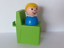 VINTAGE Fisher Price Little People #2526 POOL LIFEGUARD CHAIR & GIRL *Near Mint*