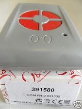 OeO TCOM R4 CANALI 2 Fm 433,92 Mhz BICANALE code : 391580 RADIOCOMANDO led ROSSO