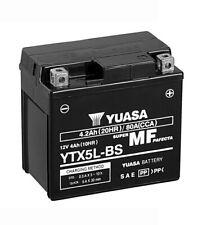 Yuasa YTX5L-BS Batterie 12V 4AH Motorrad Roller GT6B-3 WP6B-3 FTX5L-BS GTX5L