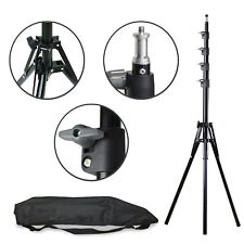 "Photography Photo Studio Light Stand Tripod w/ Carrying Bag Adjustable 23""- 94"""