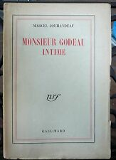 Jouhandeau, Monsieur Godeau intime, NRF 1926 - World FREE Shipping*