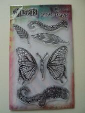 """RANGER DYLUSIONS BY DYAN REAVELEY CLEAR STAMPS """"FLIGHT OF FANCY"""" BNIP *LOOK*"""