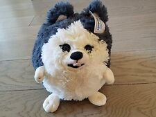 "SQUISHABLE Husky Dog 12"" stuffed animal amazingly soft; new in package."