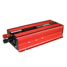 Solar 6000W Power Inverter Converter Charger DC 12V to AC 220V Sine For Car