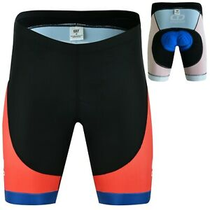 DiDOO Mens Padded Sublimation Underwear Shorts Cycling MTB Bicycle Base Layer