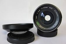 Pentax M42 Mount Super Paragon PMC 35mm f2.8 Wide Angle Prime Lens Inc Caps