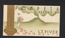 """TONNAY-BOUTONNE (17) Coiffeur """"SALON MARCEL"""" Carte Parfumée """"POMPEIA"""" L.T. PIVER"""