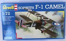 Revell Sopwith F - 1 Camel #04190 Scale 1:72 New in Box