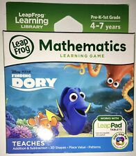 LeapFrog Mathematics Learning Game for LeapPad Tablets ~ FINDING DORY 4-7 Years