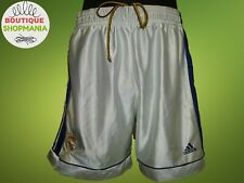 Rare REAL MADRID HOME 1998-2000 (XL) ADIDAS FOOTBALL SHORTS Soccer