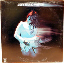 JEFF BECK - WIRED. Album 1st Can. Epic PE33849