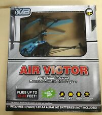 XB Air Victor 2ch MINI INFRARED REMOTE CONTROL HELICOPTER Toy. tons of fun