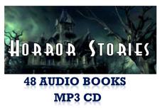 48 Horror Stories DRAMATISED Audio Books 1 x MP3 CD SUPERB!